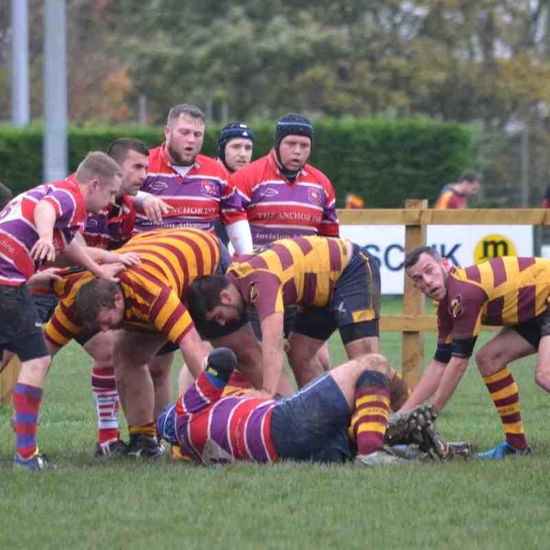 Ipswich YM 3rds v Mistley - 7/11/15