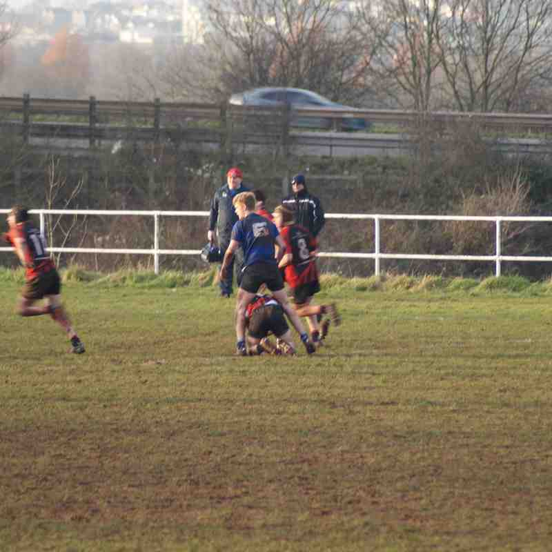 Gordano v Weston Colts 14.01.18