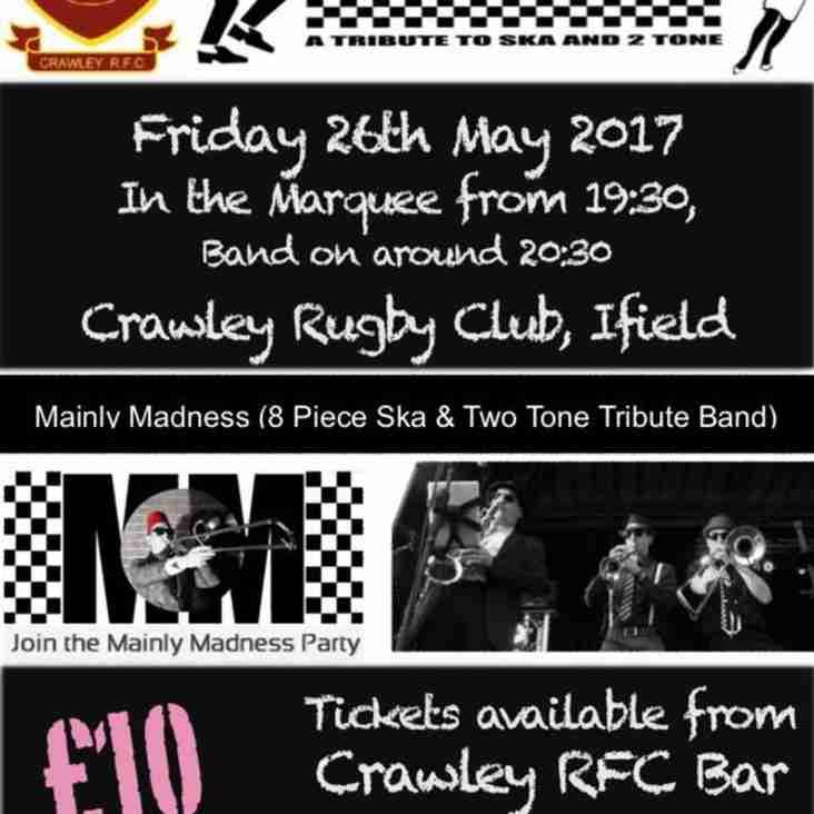 Mainly Madness at Crawley RFC