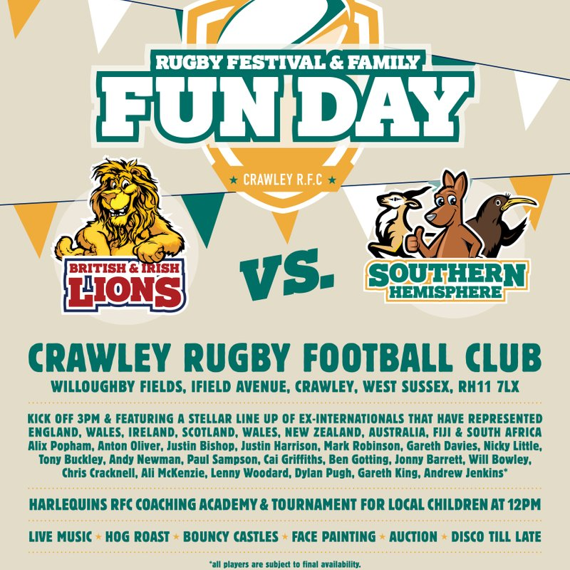 The Rugby Festival & Family Funday is Back!
