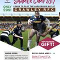 Harlequins Summer Camp at Crawley RFC