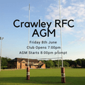 Crawley RFC AGM 2018