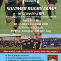 Summer Rugby Camp at Crawley RFC