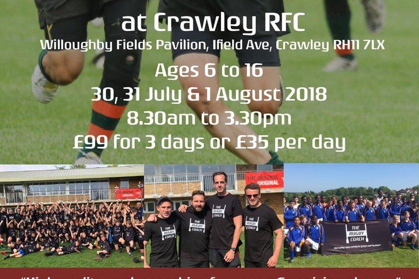 Summer Rugby Camp at Crawley RFC