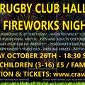 Crawley RFC Halloween & Family Fireworks Night 2018!