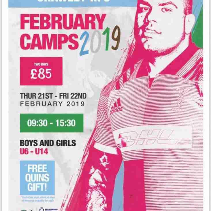 Harlequins Training Camp - February 21-22nd