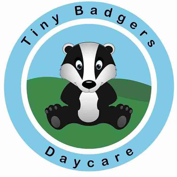 Tiny Badgers Daycare Sponsors Nick Mountford...