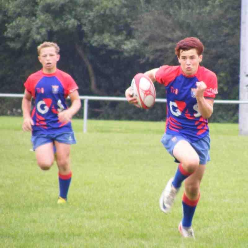 Bridgend District U14's Tournament September 2012