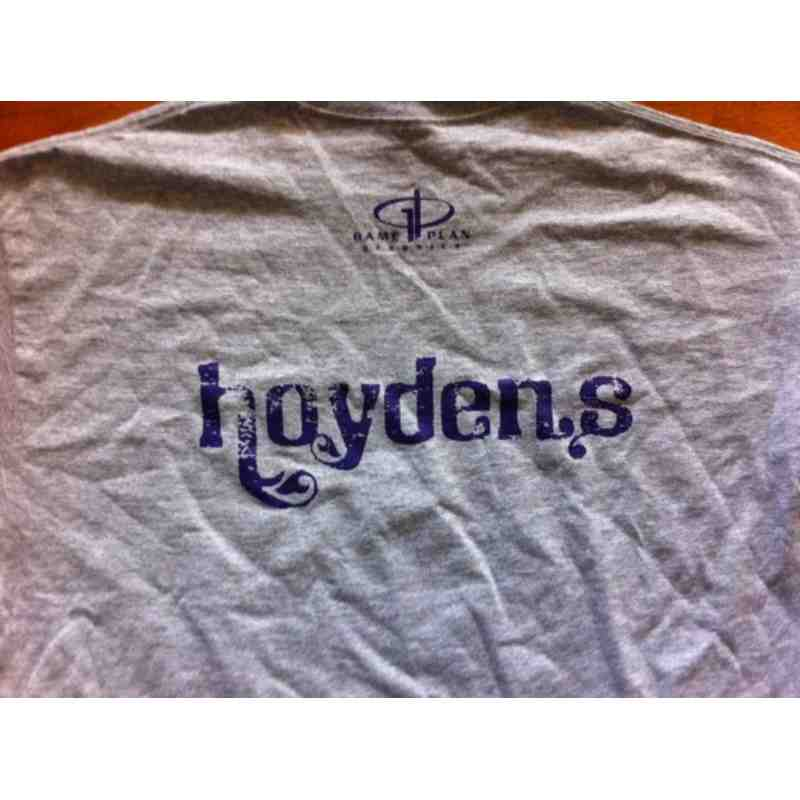 Hoydens Warm-Up T-Shirt back