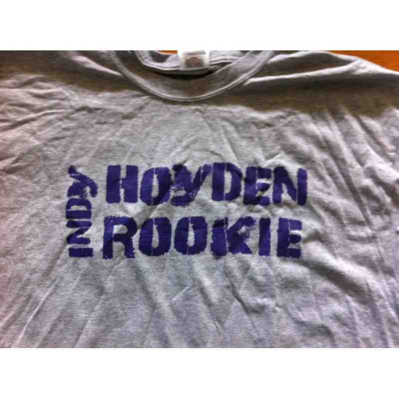 Hoydens Rookie T-Shirt front