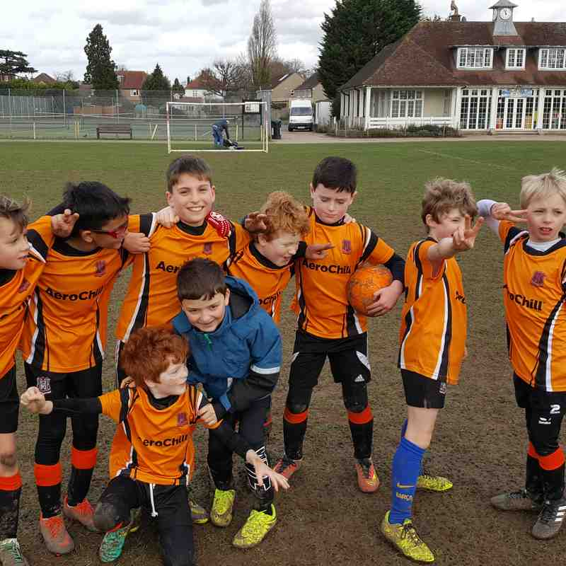 U9 Harriers 4 March