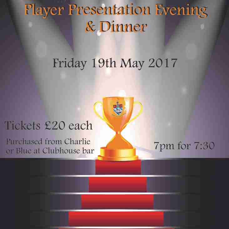 Awards Presentation Dinner