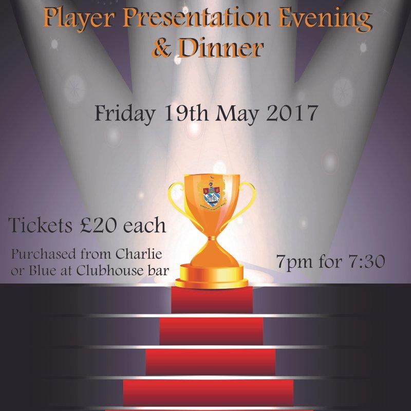 Awards Presentation Dinner