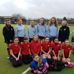 U14 girls win 3-1 vs Upminster