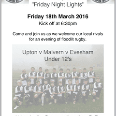 Friday Night Lights - 18th March 2016
