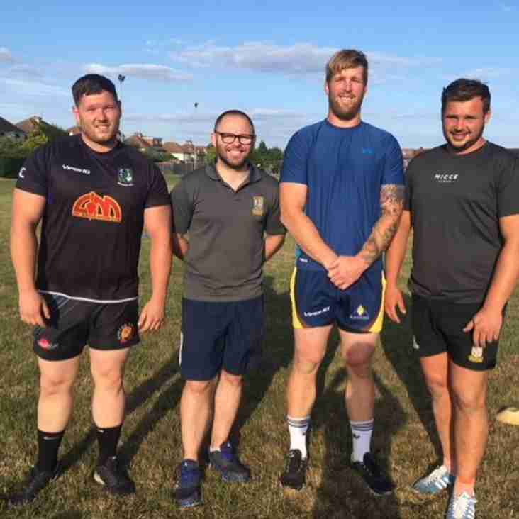 NEW COACHING TEAM AT BOGNOR RUGBY CLUB