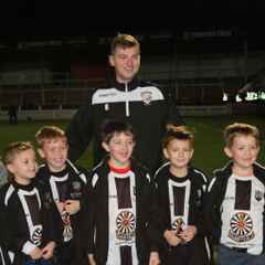 Round Table U8 do Hereford FC Guard of Honour