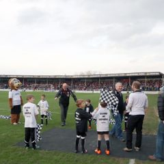 U8 guard of honour HFC