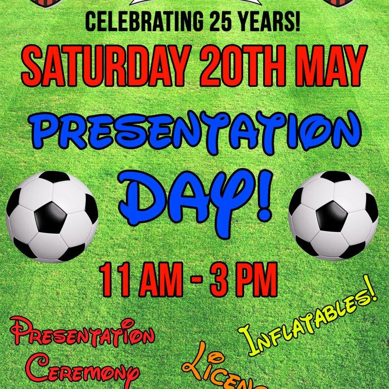 PRESENTATION DAY! ***** May 20th *****