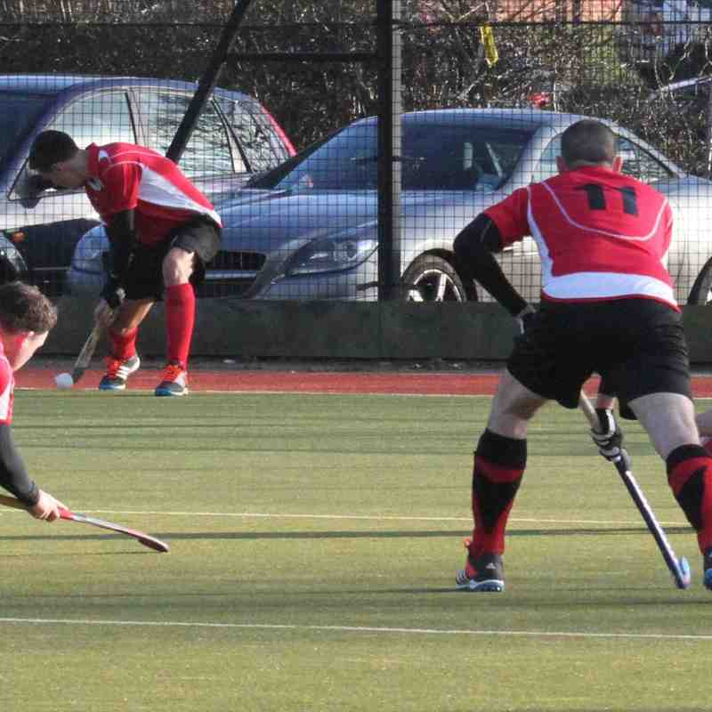 Mens Is vs Wapping Jan 18th 2015