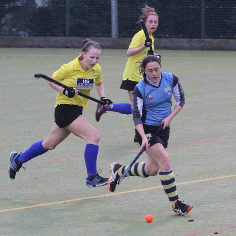 Ladies IIs vs Blueharts Nov 22nd 2014