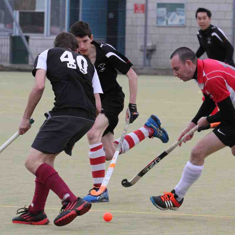 Mens 1s plus supporters vs Potters Bar