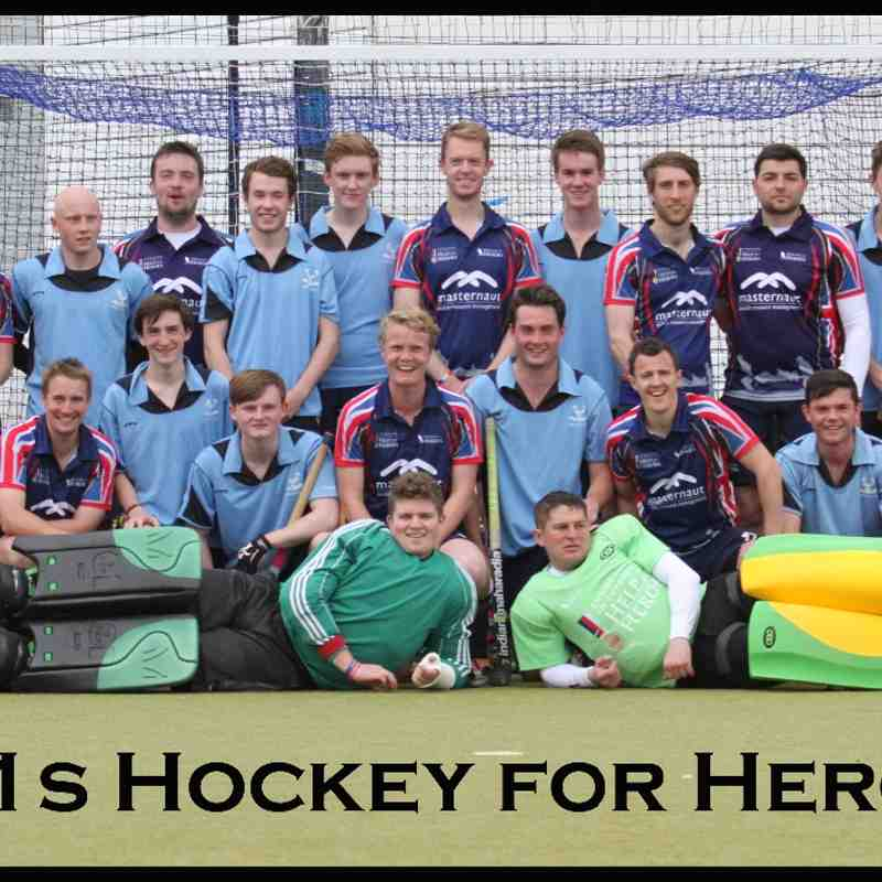 Herts U21s Hockey For Heroes 25th May 2015