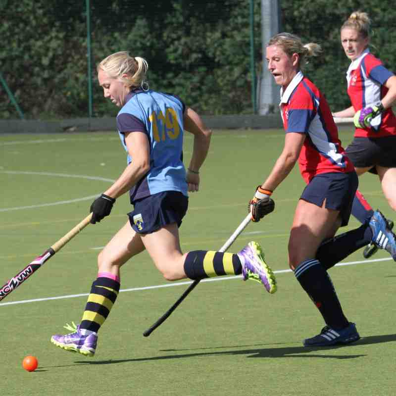 Ladies 1s vs Brentwood 19th September 2015