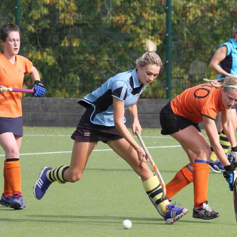 Ladies 1s vs St Albans October 3rd 2015