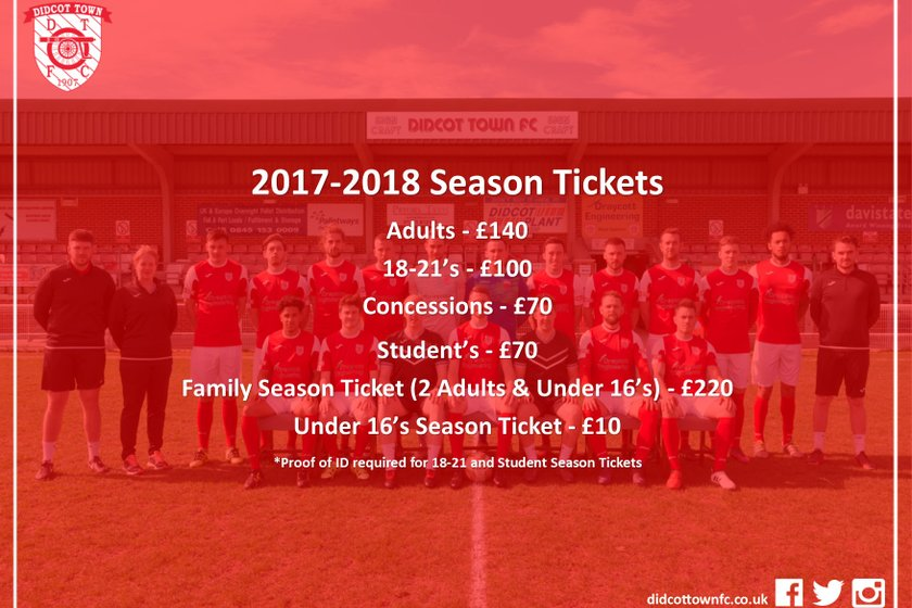2017-18 Season Tickets