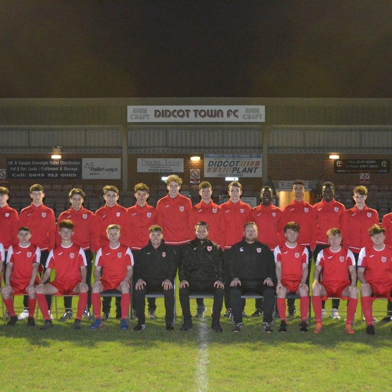 Under 18s beat Winslow United U18 12 - 1