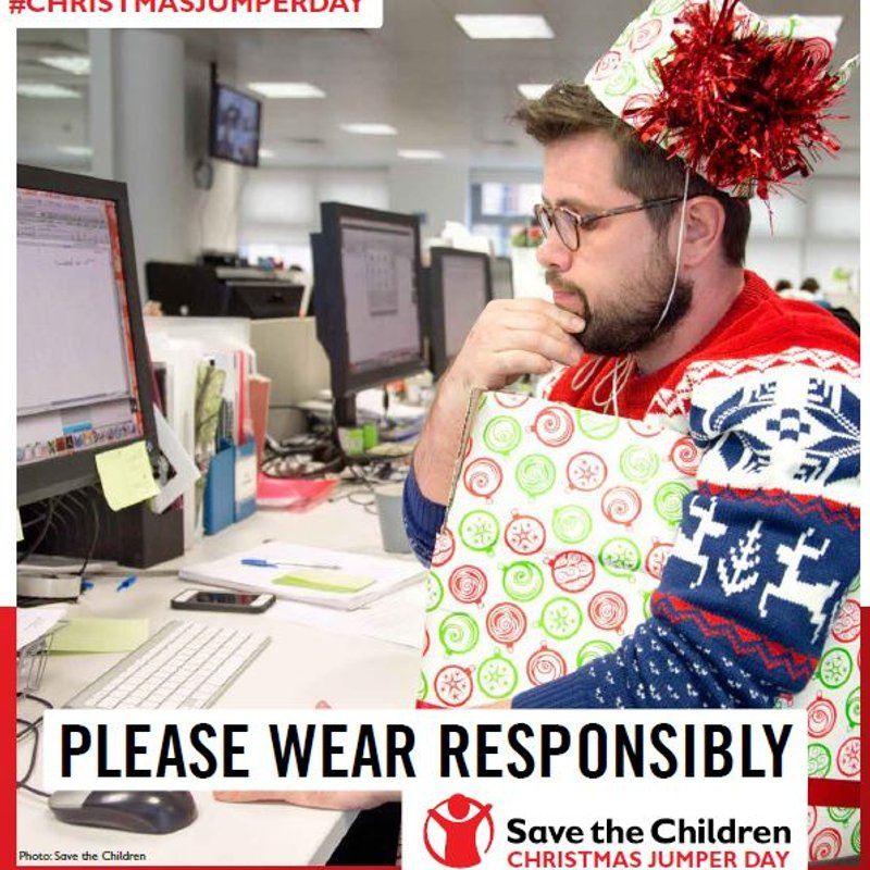 Christmas Jumper Day - Didcot v Corby