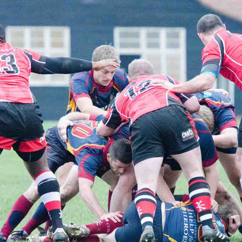 2nd XV v Walsall 2nd - 15th November 2014