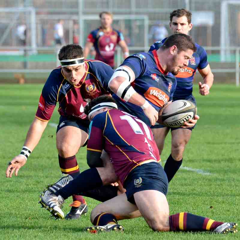 1st XV v Stoke on Trent - 21st November 2015