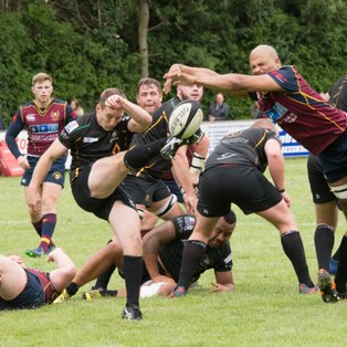 BOURNS JUST MISS OUT AS BRIDGNORTH TAKE THE SPOILS