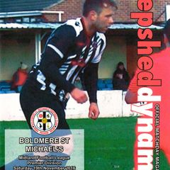 Prog Notes 12 - Boldmere St Michaels  M.F.L. -  19.11.2016
