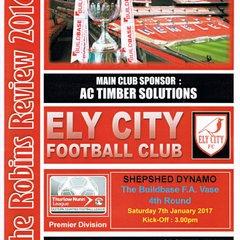Ely City F.A. Vase 4th Round
