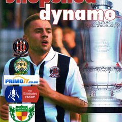 Prog Notes - Nantwich Town F.C. F.A. Cup 2nd Qualifying Round - 16.9.2017