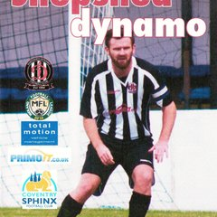 Prog Notes -  Coventry Sphinx F.C. -  Total Motion M.F.L. 20.3.2018