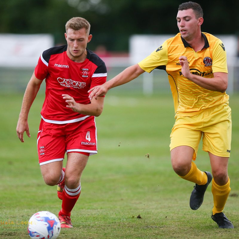 Celson strikes as Shepshed secure victory in FA Vase