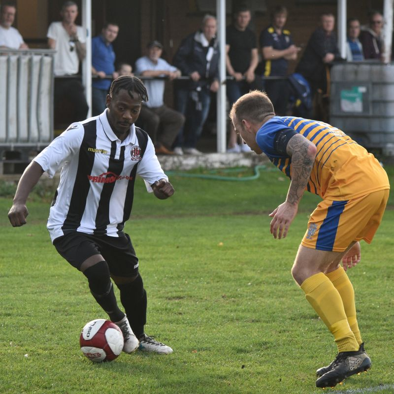 Set pieces see Shepshed safely into second round