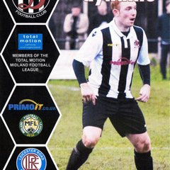 Programme Cover Leicester Road F.C. and Chairman's Notes Plus Team Sheet  11.12.2018