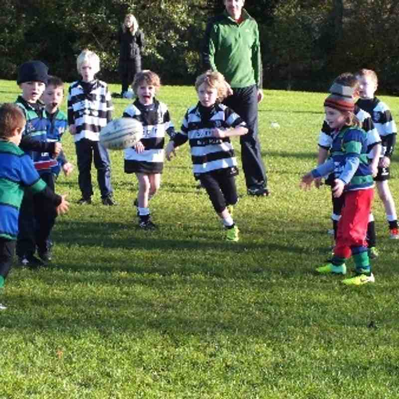 Under 6/7s v Wesley/Belvo 10 Nov 2013