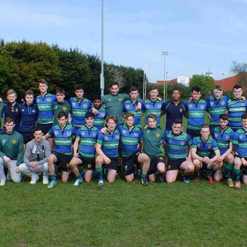 U20s League Final v Old Belvedere Sunday 10 April 2016