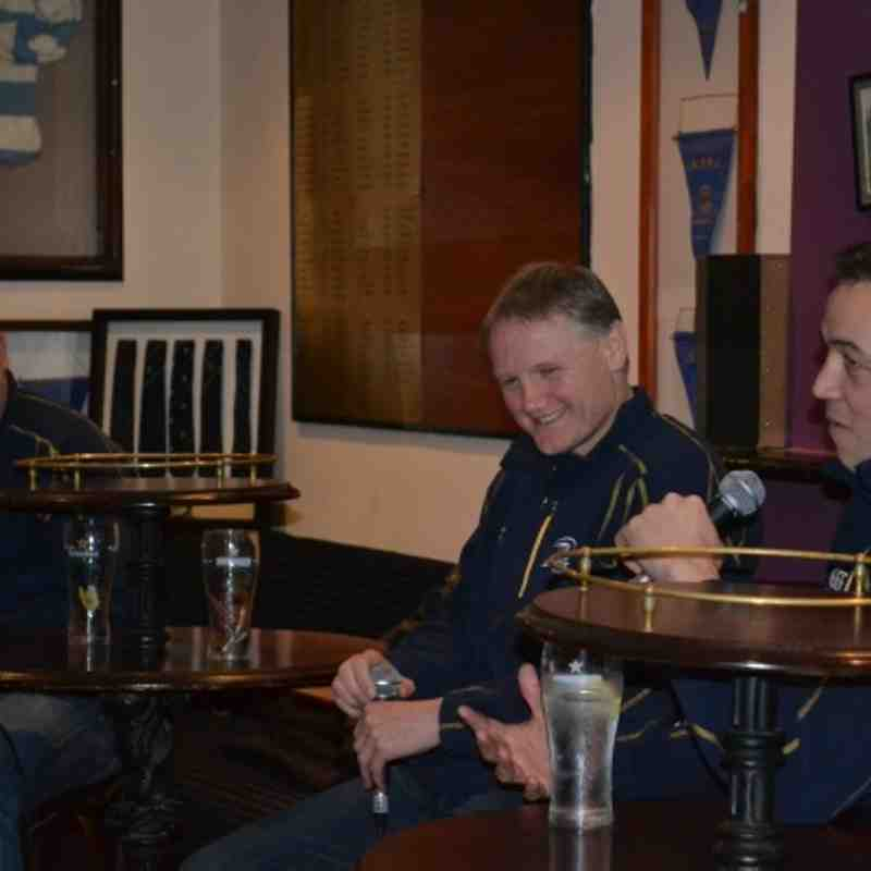 Barretstown Leinster Coaches Night