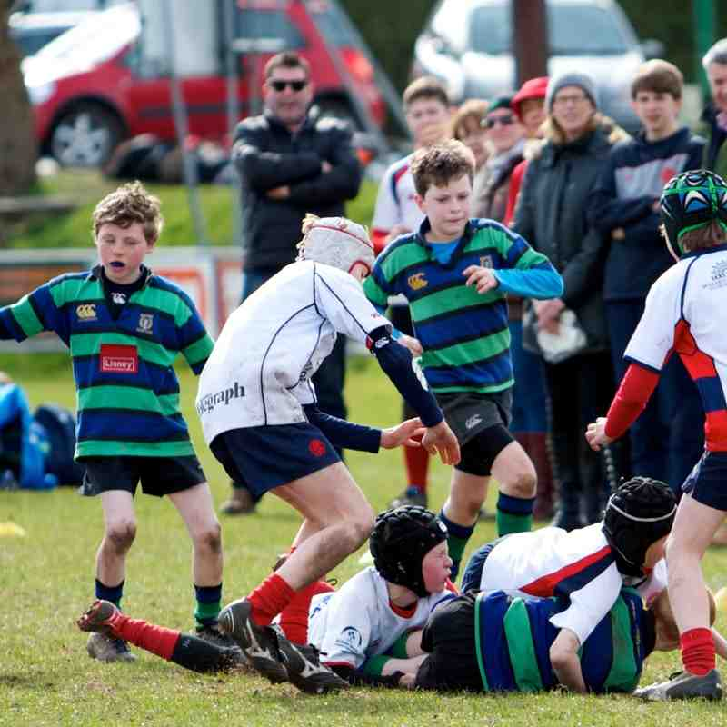 U12s tour to Belfast 28th/29th March 2015