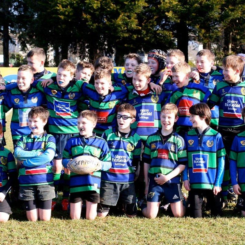 U-14 (2003) beat Old Wesley 22 - 28
