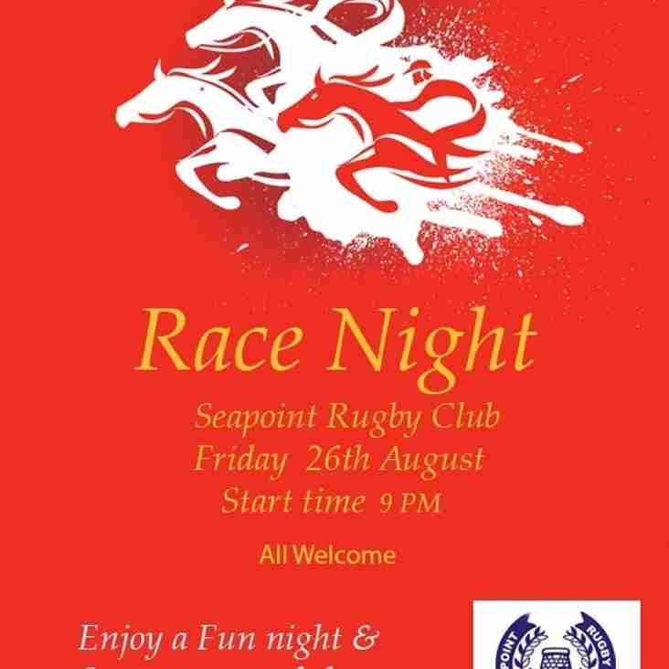 Seapoint Pre-Season Race Night