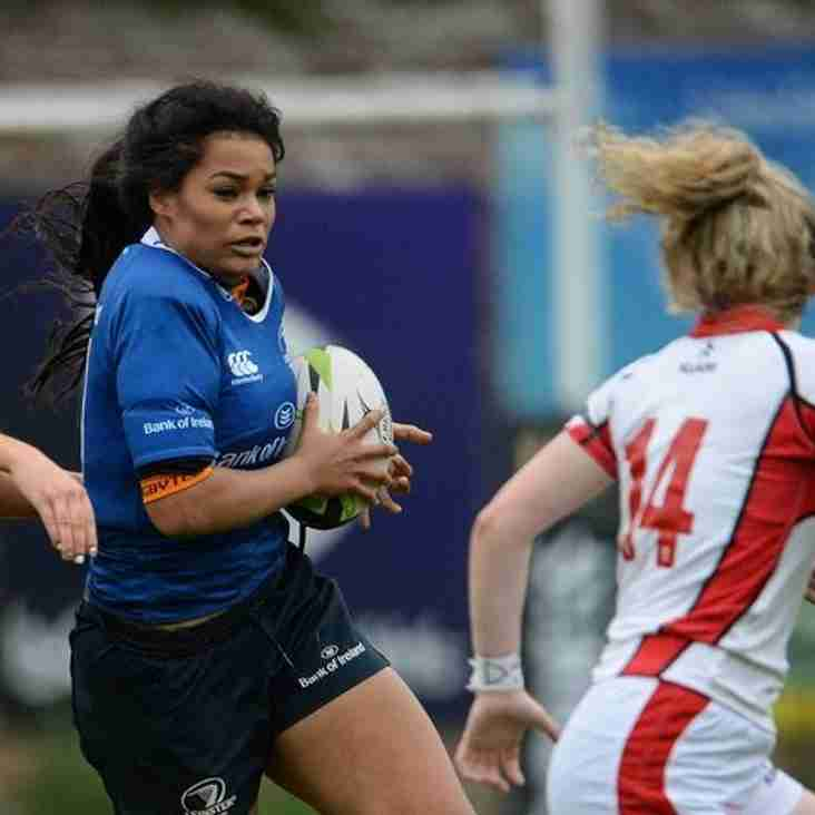 Leinster U18 girls playing in Seapoint Saturday 24th September