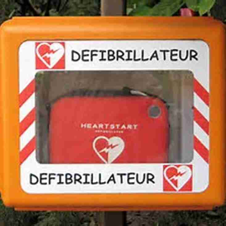 Sunday 17th September - Defibrillator Training